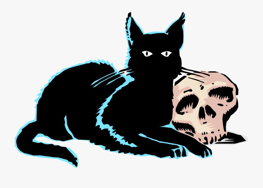 Art,carnivoran,kitten - Evil Cat Png, Transparent Clipart
