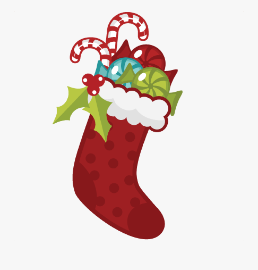 Transparent Christmas Stocking Png - Cute Christmas Stockings Clipart, Transparent Clipart