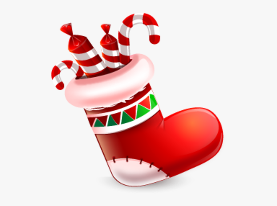 Socks For Christmas Clipart, Transparent Clipart