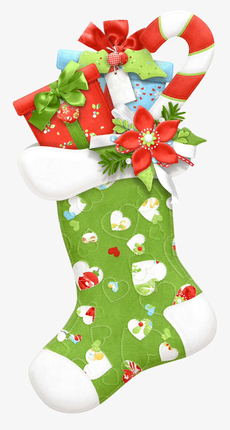 Christmas Stocking Clip Art - Christmas Stocking Clipart , Free Transparent Clipart - ClipartKey