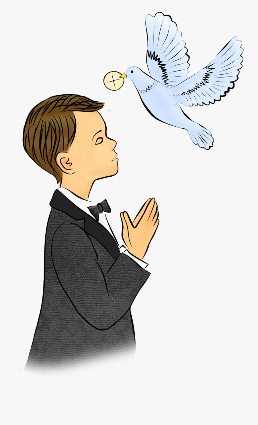 Prima Comunione Kartki - Holy Communion Boy Clipart, Transparent Clipart