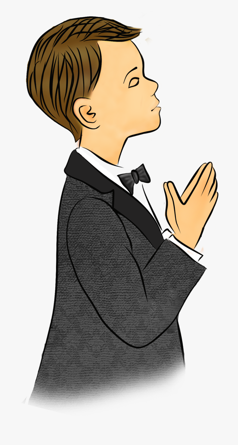 Transparent Communion Clip Art - First Holy Communion Boy Clipart, Transparent Clipart