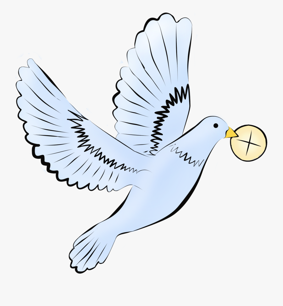 Prima Comunione Colomba Komunia Wi Ta - Communion Dove, Transparent Clipart