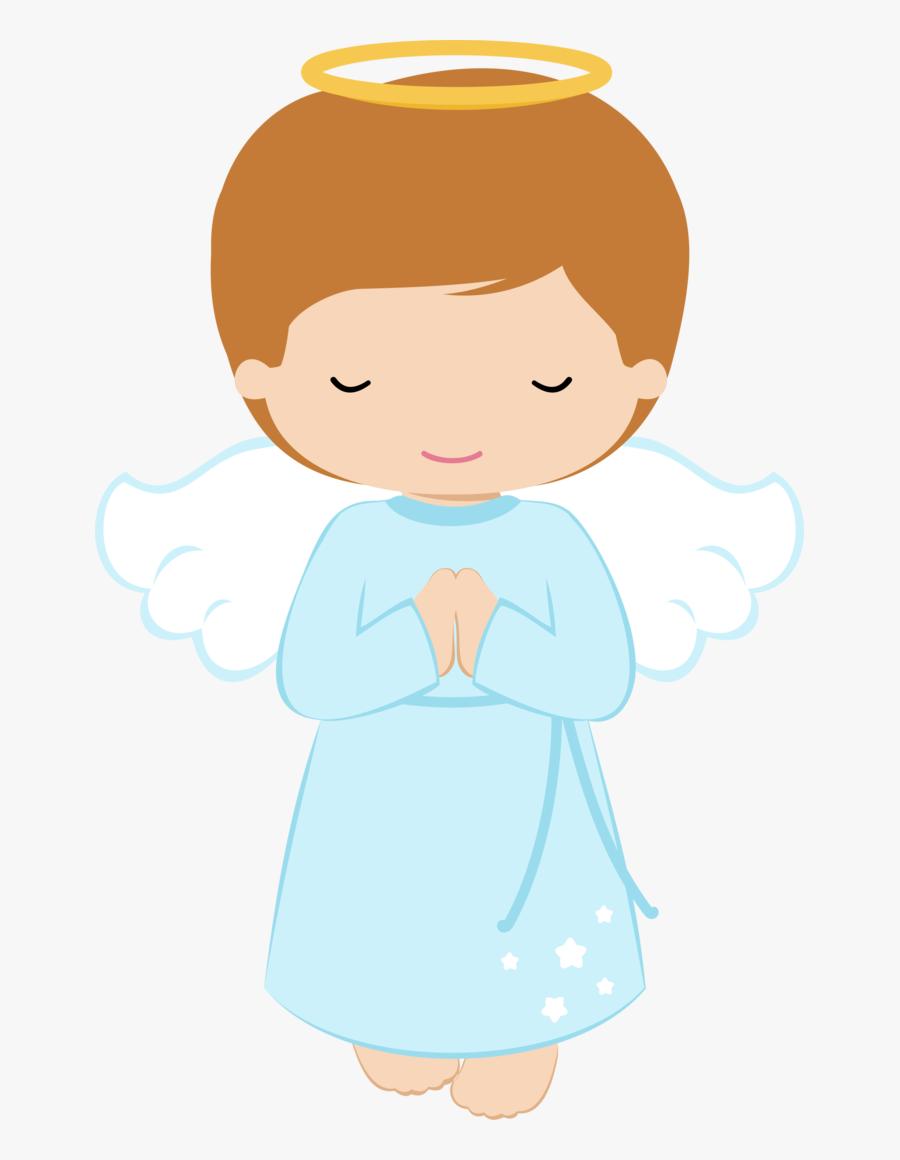 Shared Ver Todas - Baptism Angel Boy Clipart, Transparent Clipart