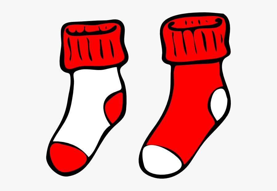 Png Freeuse Download Christmas Socks Clipart - Socks Clip Art, Transparent Clipart