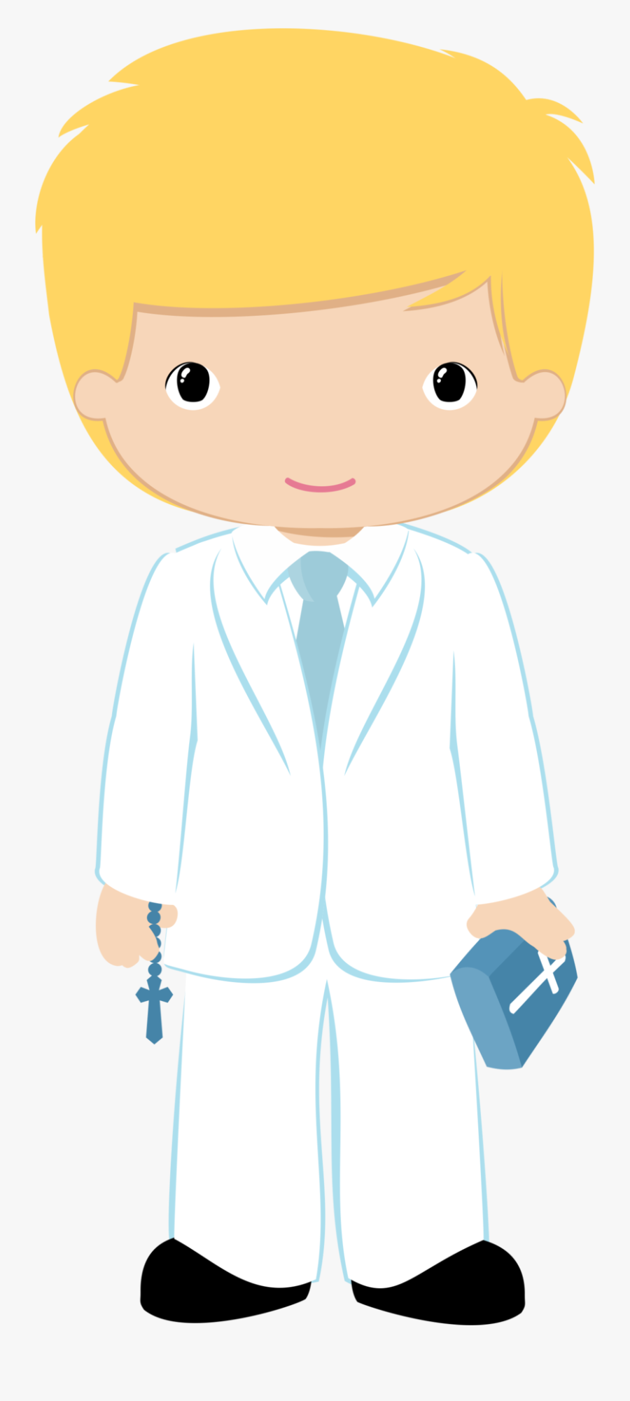 Communion Boy Png - Boy Holy Communion Clipart, Transparent Clipart