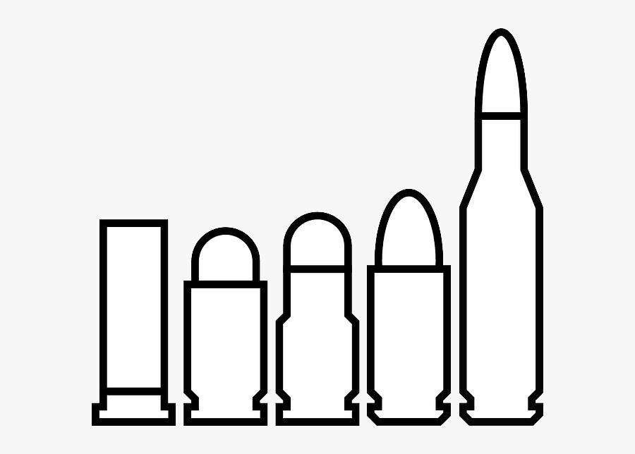 Black Bullet Clipart - Bullet Clip Art, Transparent Clipart