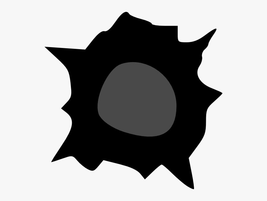 Shrapnel - Clipart - Bullet Holes, Transparent Clipart