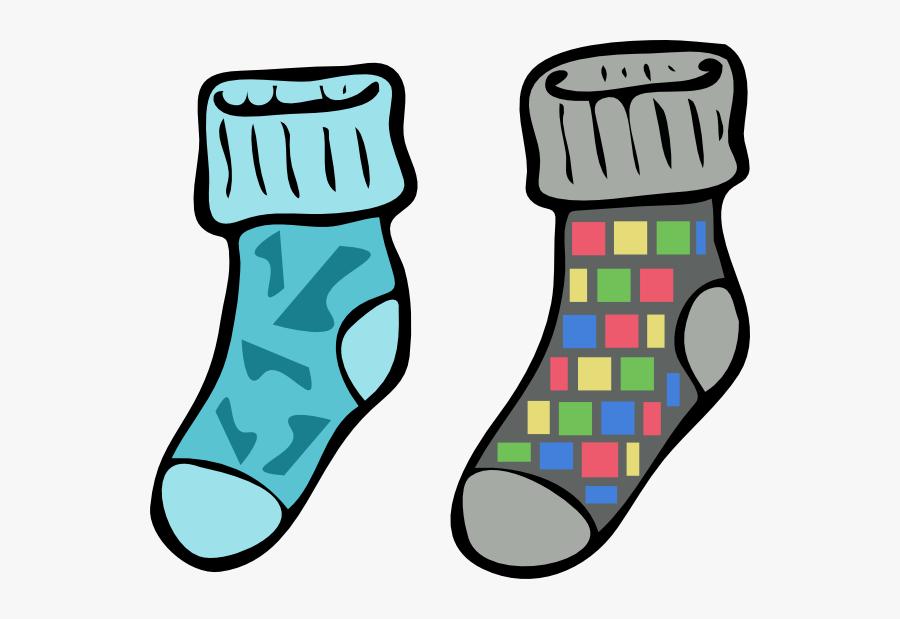 Clip Art Vector Download Huge - Socks Clip Art, Transparent Clipart