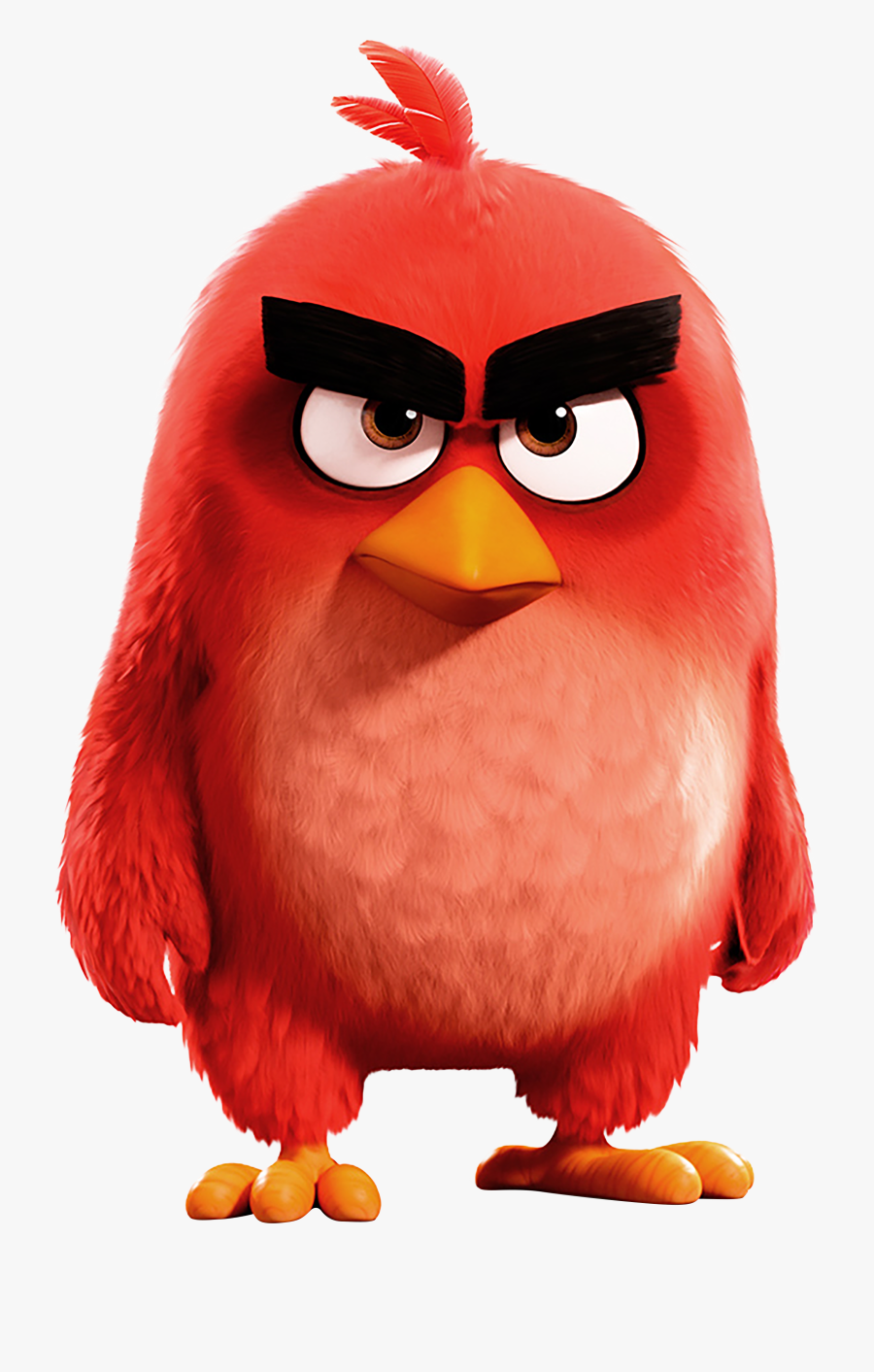 Anger Clipart Wallpapers - Red Angry Birds 2, Transparent Clipart