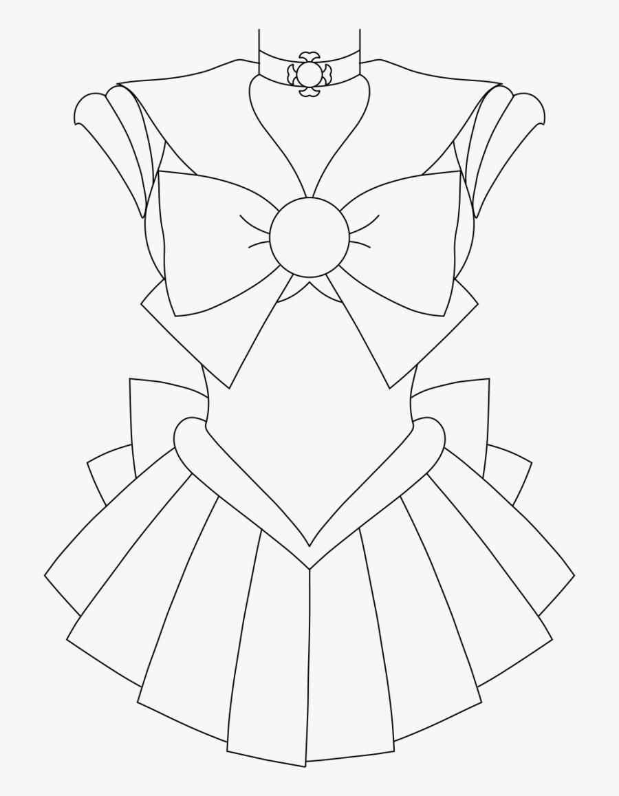 Mgu Base Sailor - Sailor Moon Outfits Drawing, Transparent Clipart