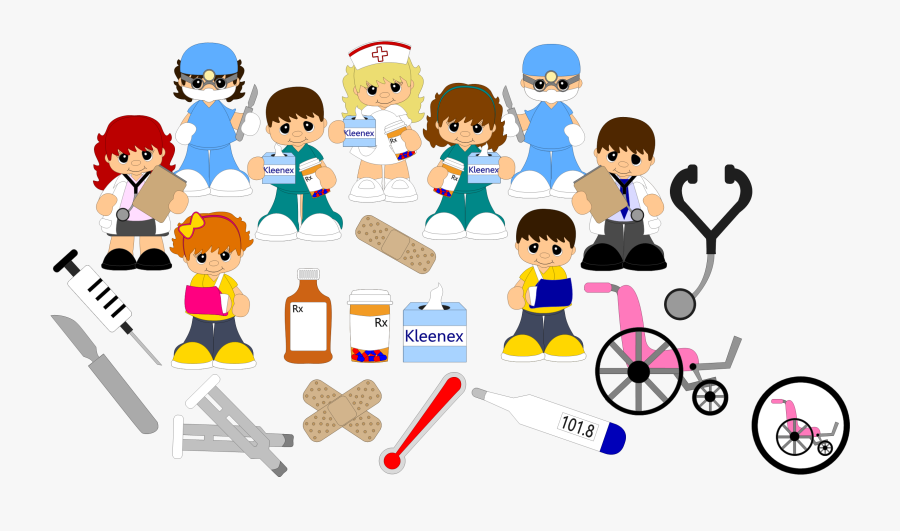 Medical Clipart Medical Center - ทางการ แพทย์ การ์ตูน Png, Transparent Clipart