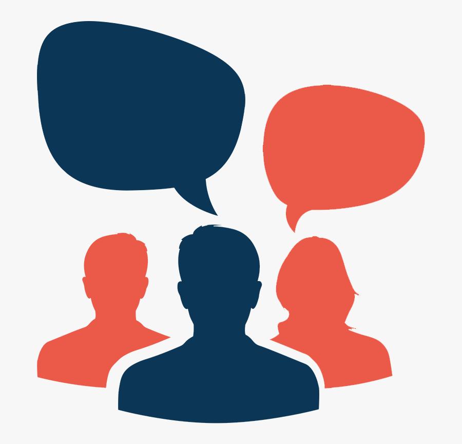 Discussion Clipart Team Development - Team Discussion Icon, Transparent Clipart
