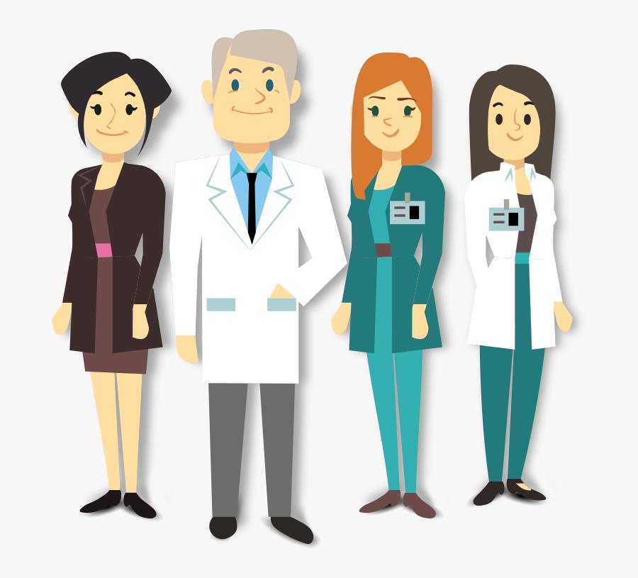 Clipart Doctor Team - Dental Team Clip Art, Transparent Clipart