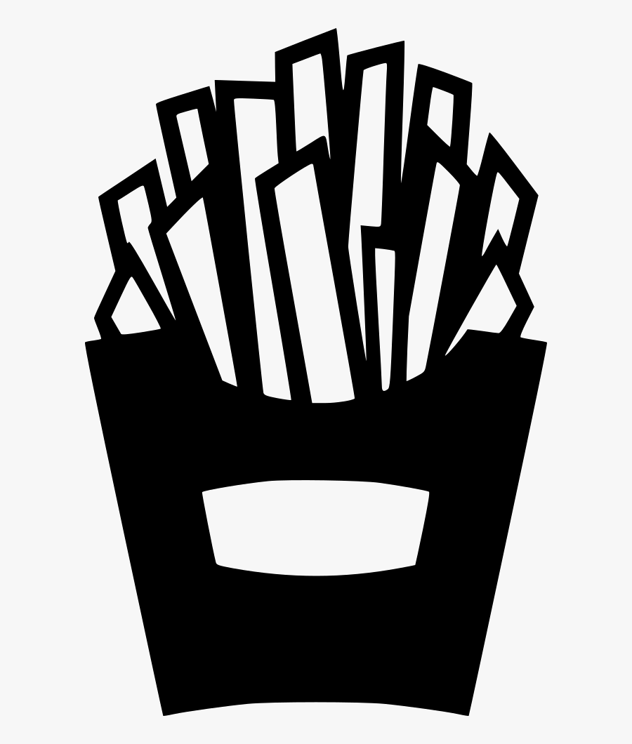 French Fries Finger Chips - French Fries Icon Png Transparent, Transparent Clipart