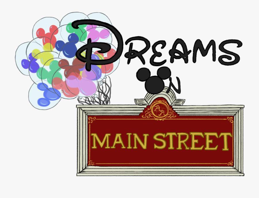 California Adventure Clipart - Clipart Main Street Disneyland, Transparent Clipart