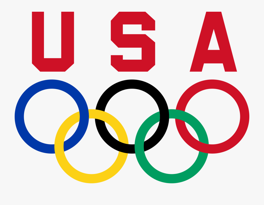 File United States Committee - Team Usa Olympic Rings, Transparent Clipart