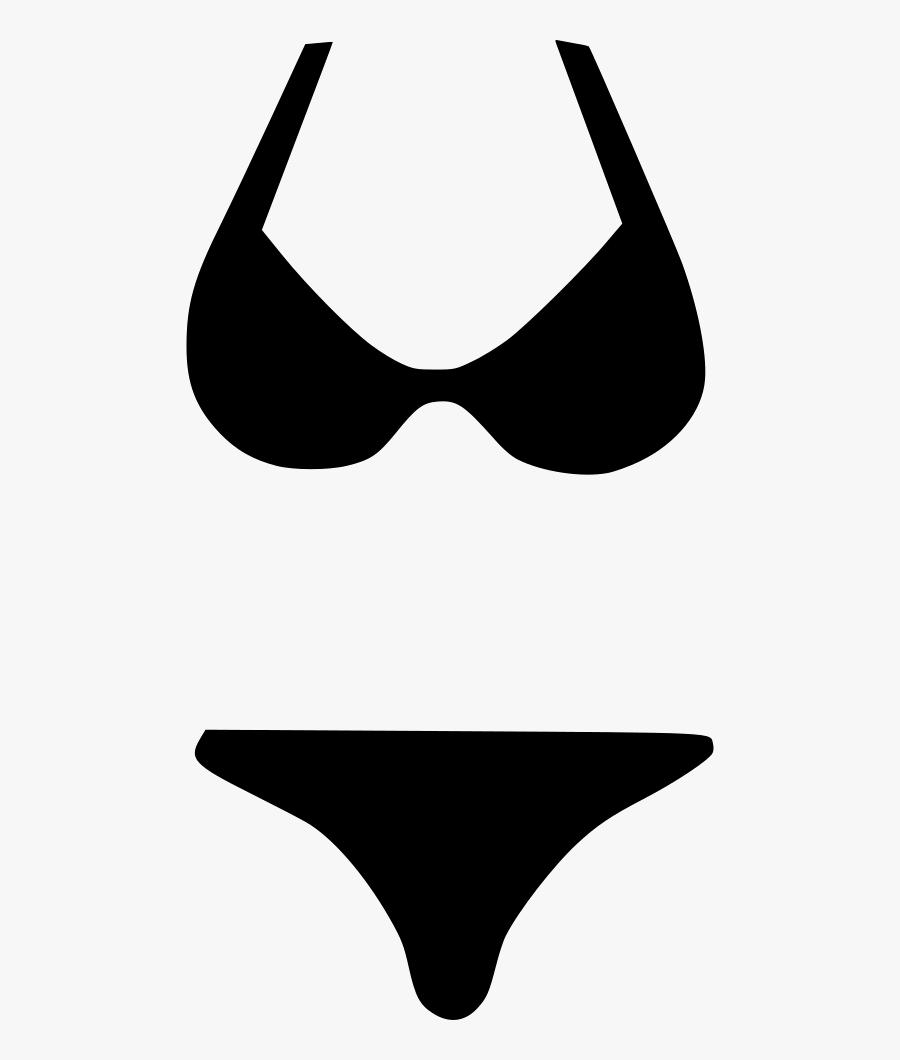 Bikini Swim Suit Wear - Bathing Suit Clipart Png, Transparent Clipart