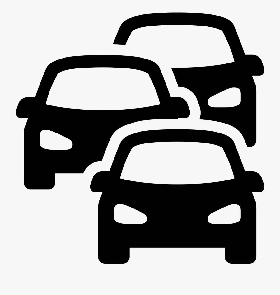 Transparent Police Car - Traffic Icon Png, Transparent Clipart