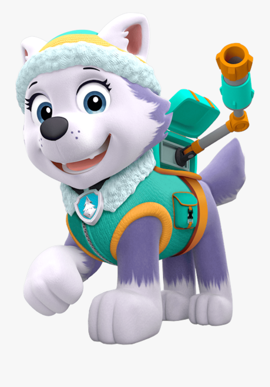 Patrol Paw Siberian Adventure Party Husky Puppy Clipart - Everest Paw Patrol Png, Transparent Clipart