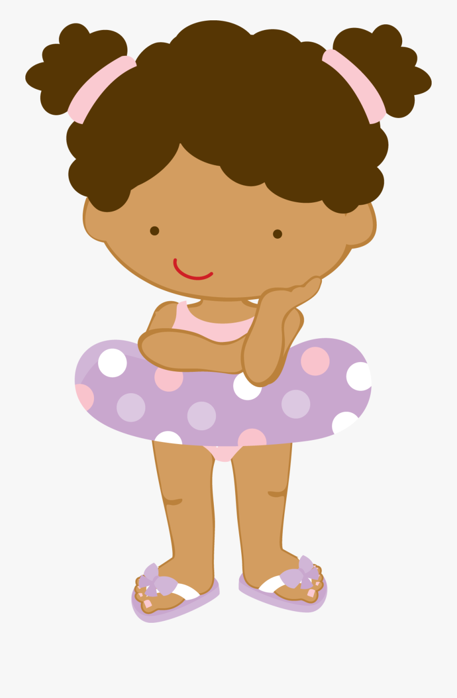 Photo Shared On Meowchat Pool Parties, Cute Clipart, - Girls Pool Party Clipart, Transparent Clipart