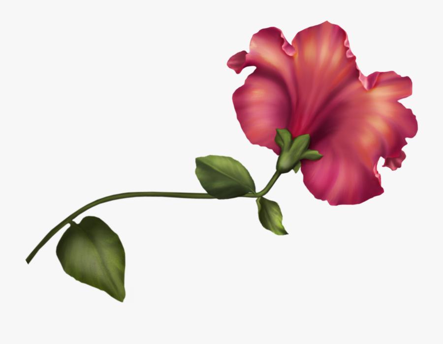 Vintage Flower Png Clip Art - Flower Vintage Clipart Png, Transparent Clipart