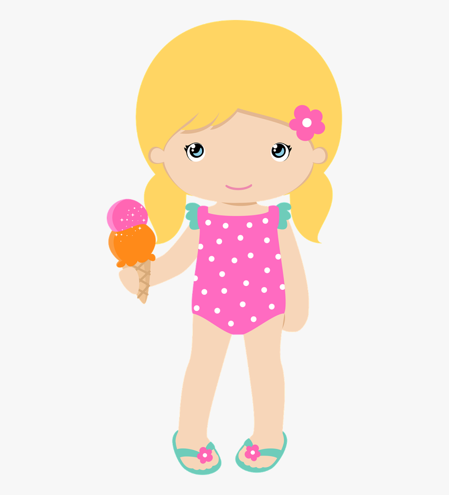 Clip Art Girls Pool Parties - Loira Pool Party Png, Transparent Clipart