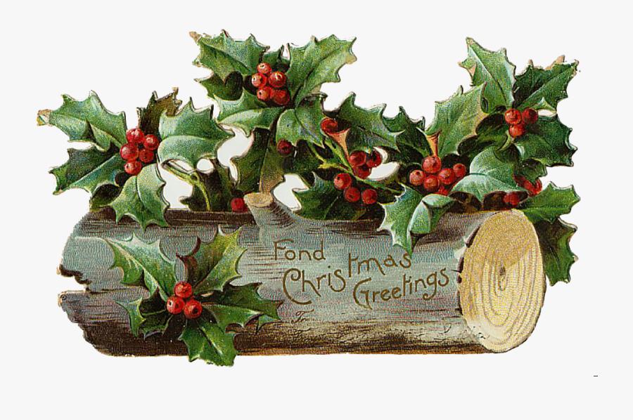 Vintage Christmas Images Clipart, Transparent Clipart