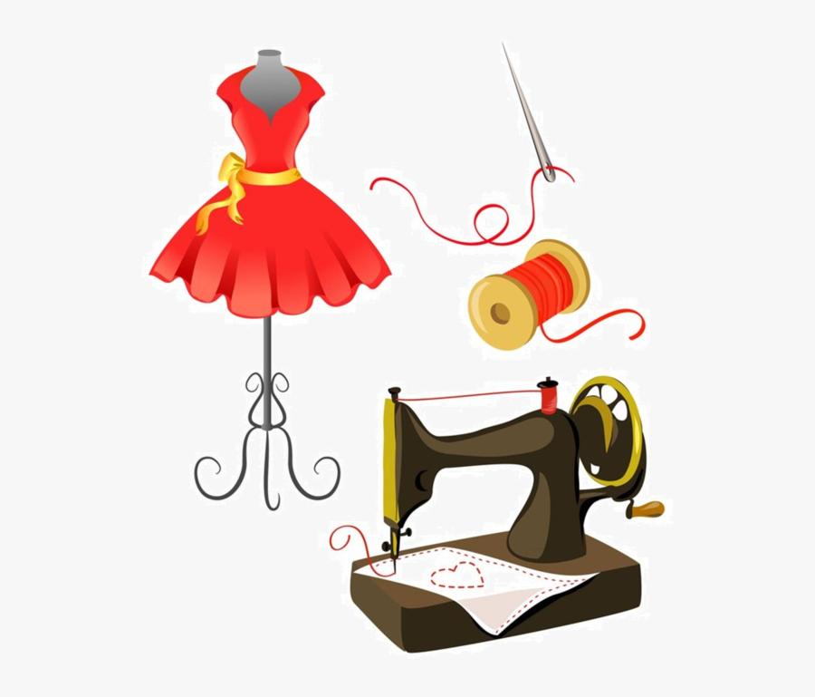 Transparent Sewing Clip Art - Materiel De Couture Dessin, Transparent Clipart