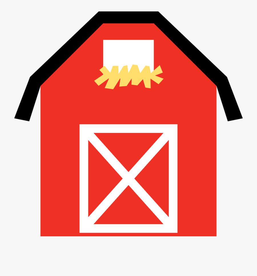 Barn Farm Clipart, Transparent Clipart