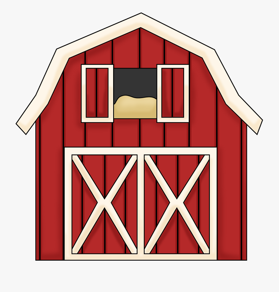 Free Clip Art Of Barn Clipart 4627 Best Red Barn Silhouette - Old Macdonald Farm House, Transparent Clipart