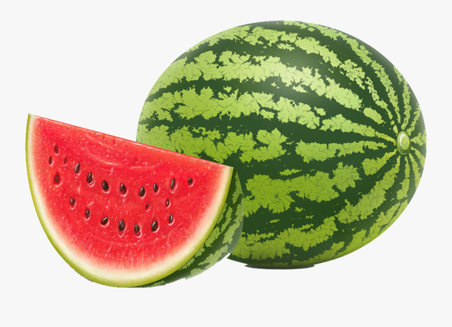 Watermelon Seed Fruit Vegetable - Watermelons With White Background, Transparent Clipart