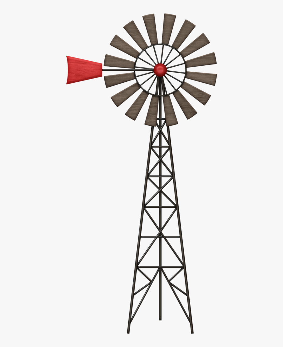 Vane Png Stenciling And - Farm Windmill Clipart, Transparent Clipart