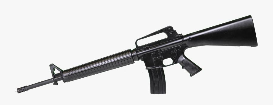 Pubg Clipart M16 - M16 Rifle Png, Transparent Clipart