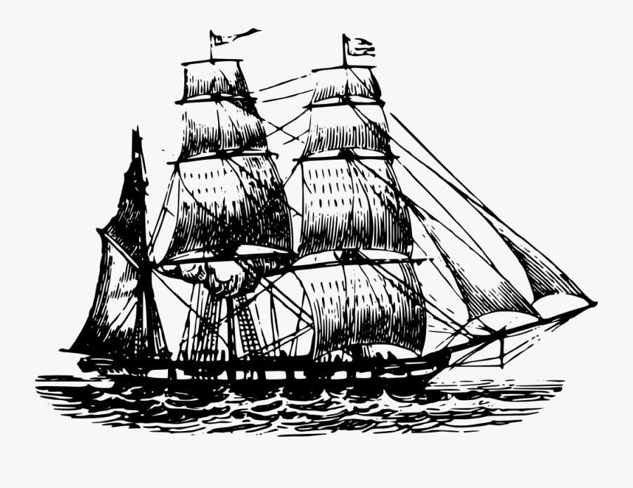 Tall Ship Clip Art, Transparent Clipart