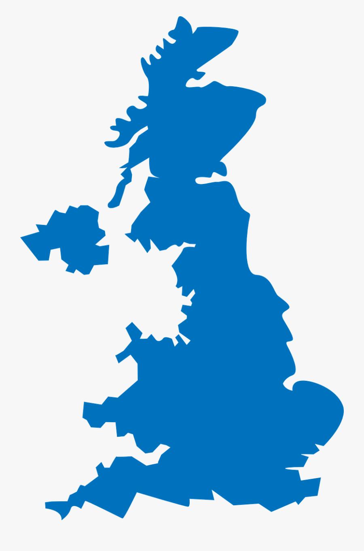 United Kingdom Map - United Kingdom Map Png, Transparent Clipart