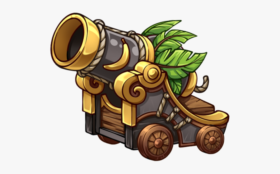 Pirate Cannon Png - Pirates Of Everseas Ships, Transparent Clipart