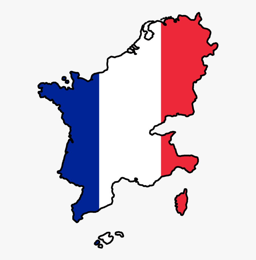 France Flag Image - Napoleon France Flag Map, Transparent Clipart