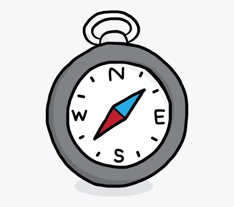 Transparent Compass Clipart - Compass Clipart, Transparent Clipart