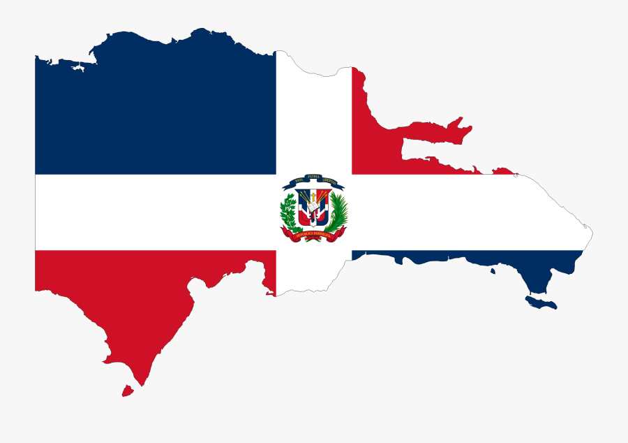 Kenya Map And Flag Abc Letters In The Library - Dominican Republic Flag Country, Transparent Clipart