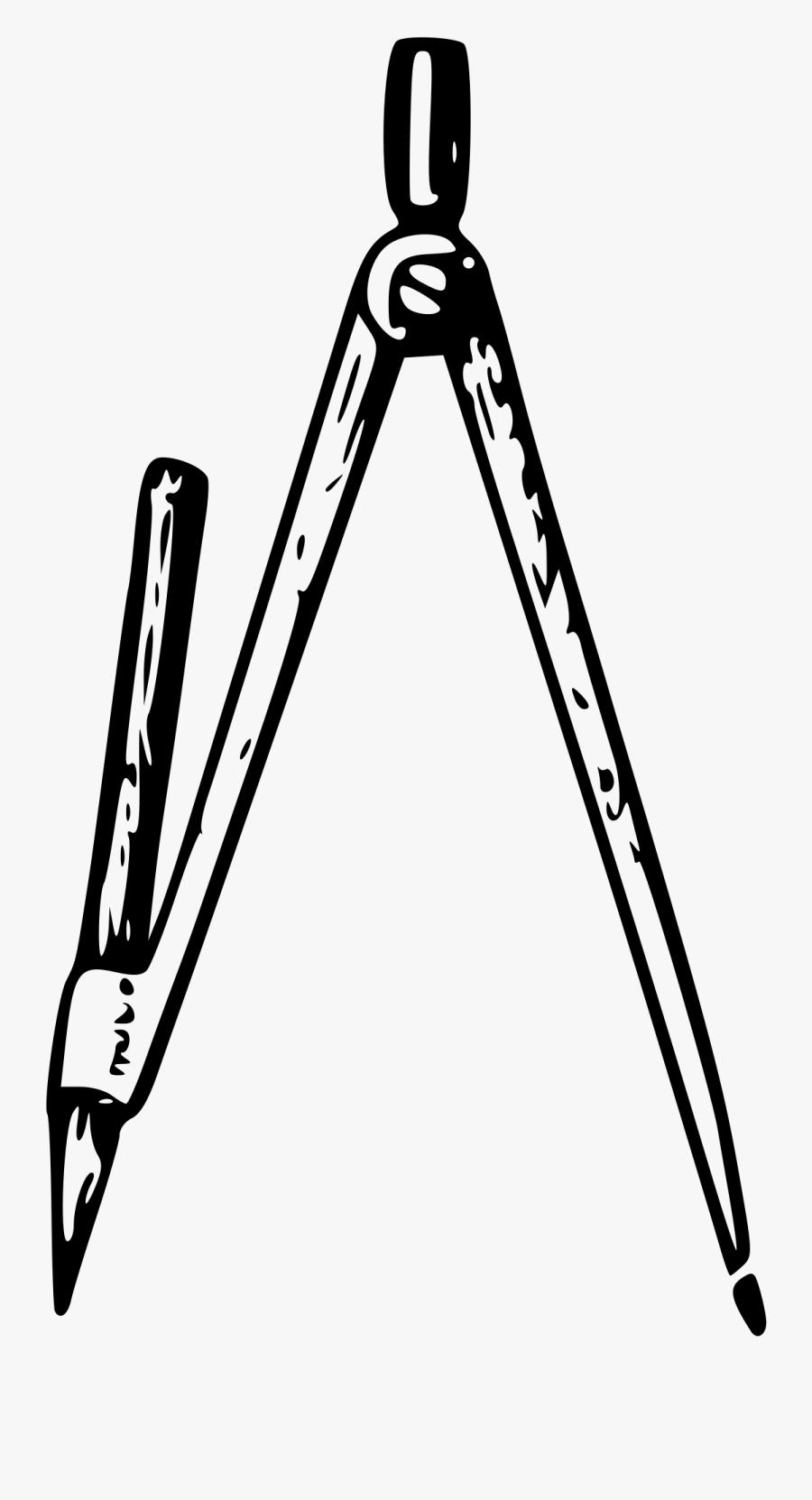 Lutz Big Image Png - Drawing Compass Clip Art, Transparent Clipart