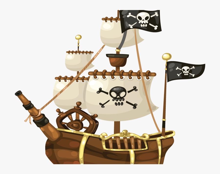 Pirate Ship Transparent, Transparent Clipart