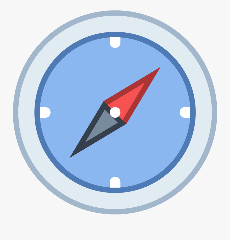 Compass Clipart Icon - Compass Emoji, Transparent Clipart