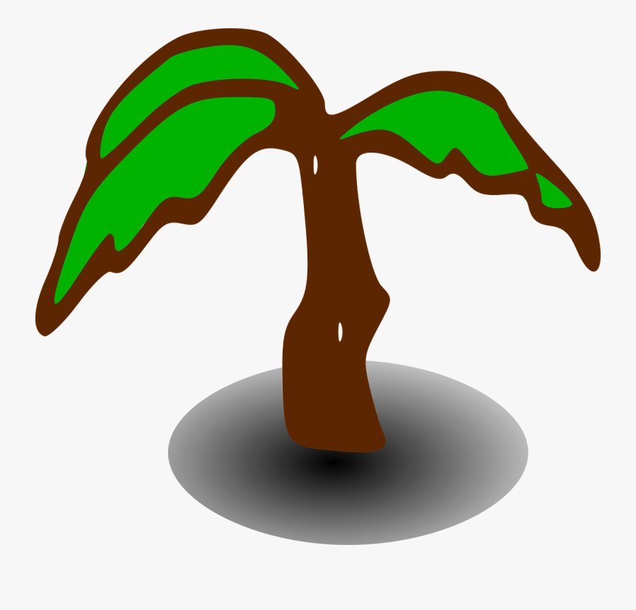 Free Vector Treerpg Map Elements Clip Art - Cartoon Palm Tree Art, Transparent Clipart