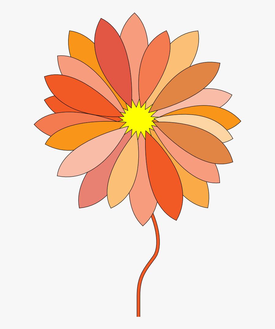Free Download Clip Art - Flower Cartoon Png Gif, Transparent Clipart