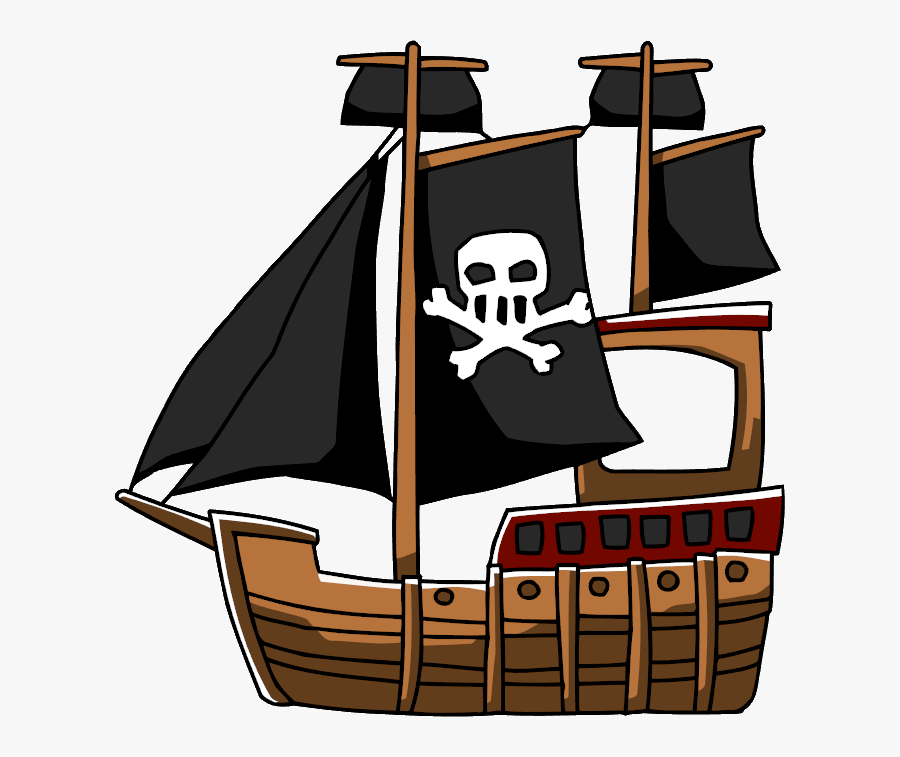 Pirate Ship Clipart Png Royalty Free - Pirate Ship Transparent Png, Transparent Clipart
