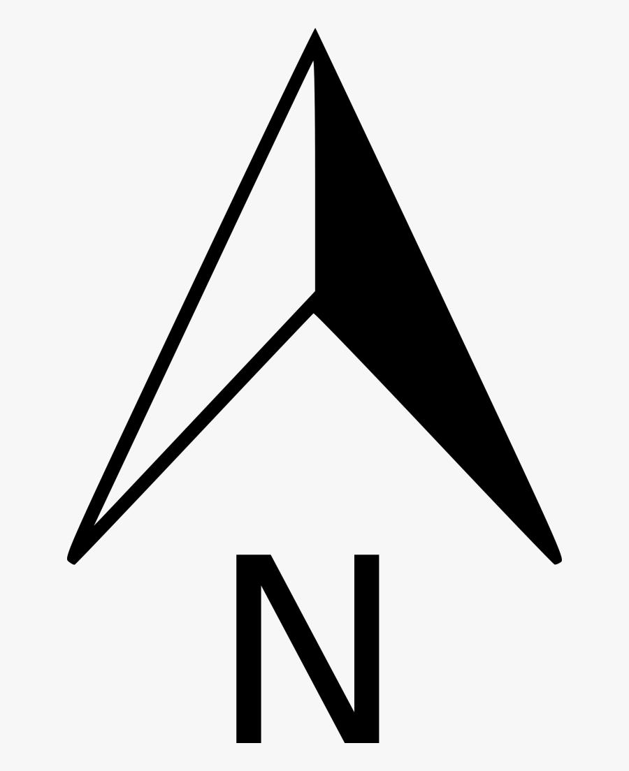 North Arrow Compass Rose Clip Art, Transparent Clipart
