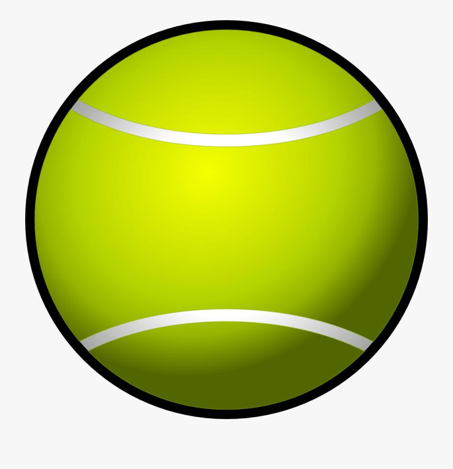 Tennis Ball Clipart, Transparent Clipart