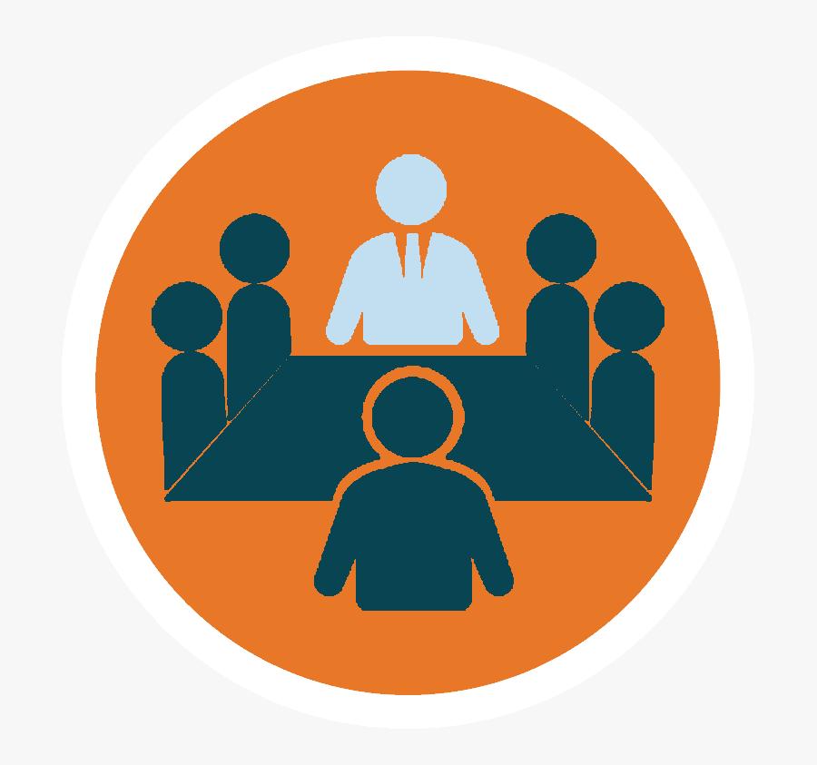 Leadership Clipart Nurse - Board Of Directors Icon, Transparent Clipart