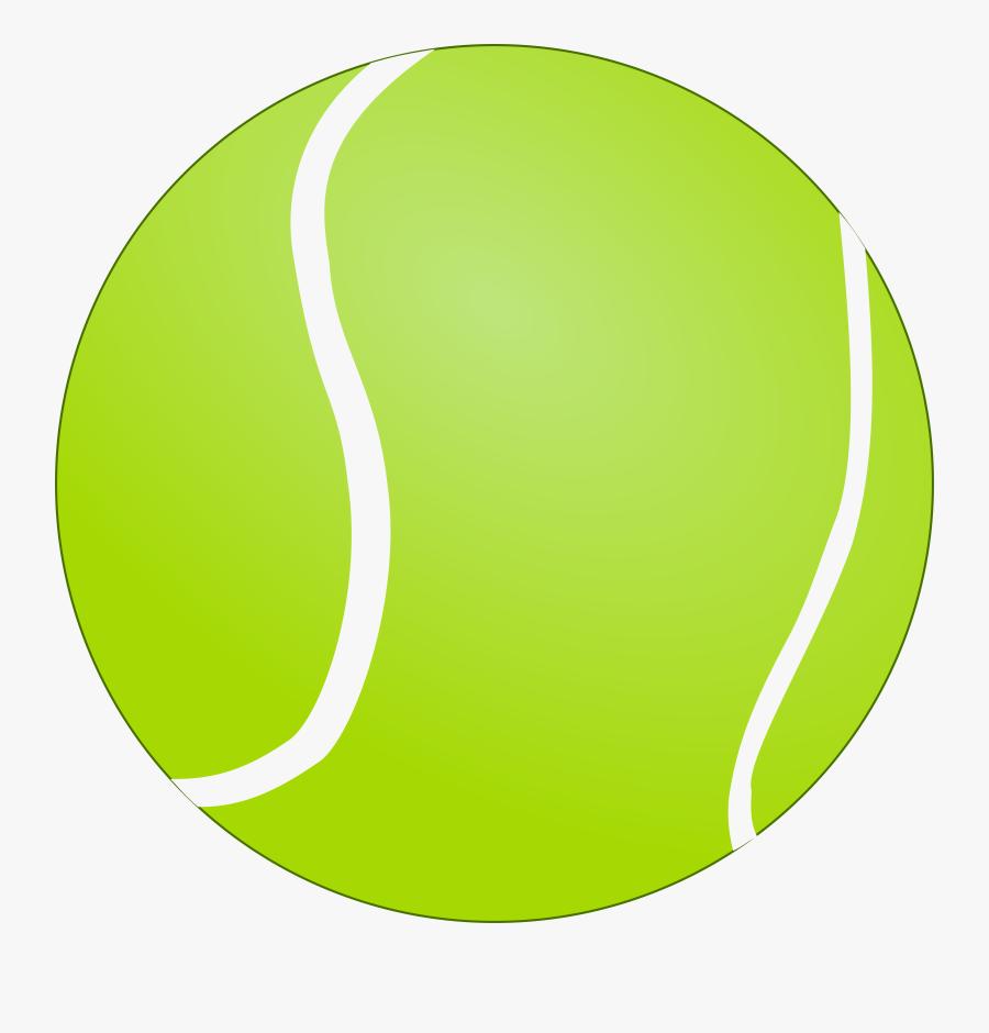 Bola De Tenis - Tennis Ball Vector Png, Transparent Clipart
